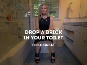 drop a brick