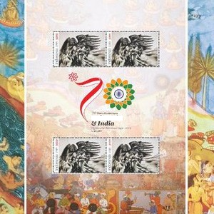 Which country launched these Ramayana stamps? - Indonesia