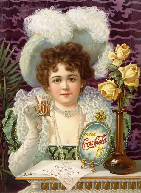 Hilda Clarke - First Female model for Coca Cola