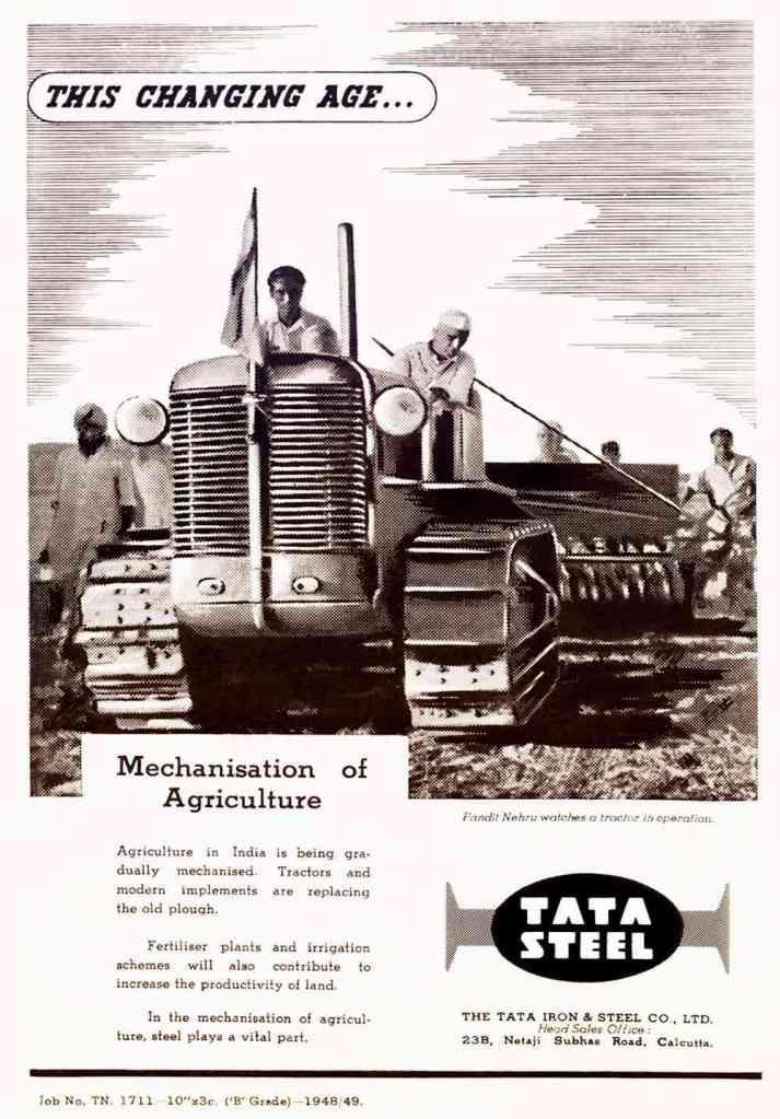 Tata Steel Old Ad