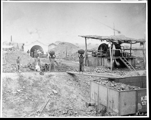 First Coal mine