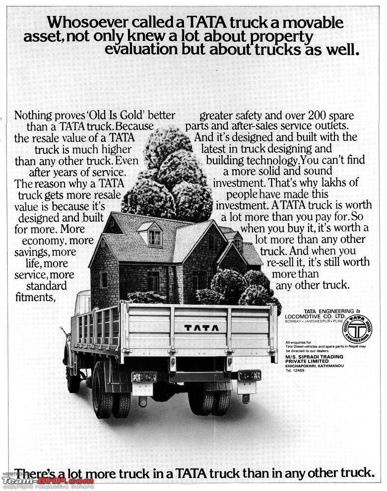 Tata Truck Ad