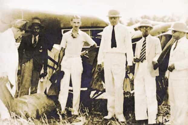 First Air India flight